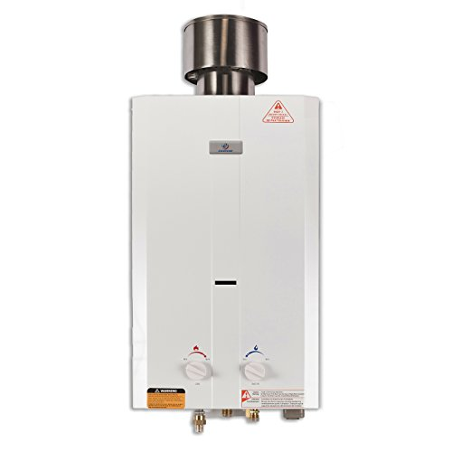 Eccotemp L10 2.6 GPM Portable Tankless Water Heater, 1 Pack,...