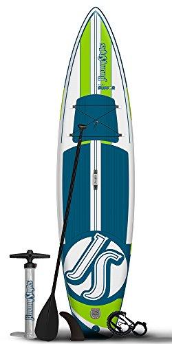 Jimmy Styks Puffer Paddleboard, Blue/Green, 11'4'
