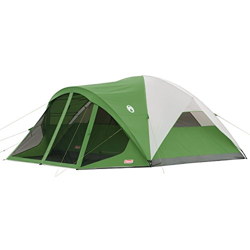 Coleman 8-Person Dome Tent with Screen Room   Evanston...
