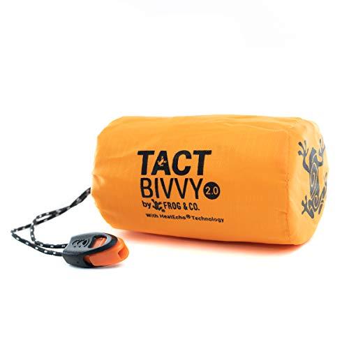 Tact Bivvy Compact Ultra Lightweight Emergency Sleeping Bag...