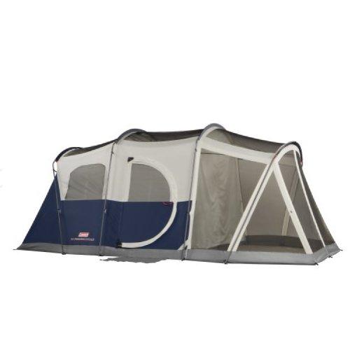 Coleman Elite WeatherMaster 6 Screened Tent,Multi Colored,6L...