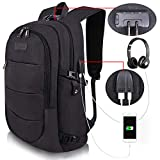 Travel Laptop Backpack Water Resistant Anti-Theft Bag with...