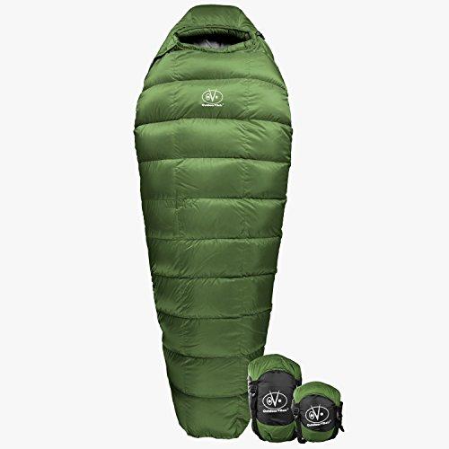 Outdoor Vitals Summit 0°F Premium Down Sleeping Bag,...