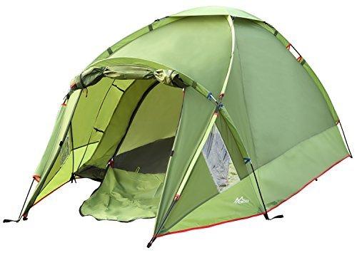 MoKo Waterproof Family Camping Tent, Portable 3 Person...