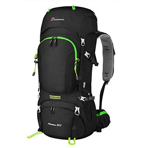 Mountaintop 60L Internal Frame Backpack Hiking Backpacking...