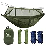 OUTFANDIA Camping Hammock with Mosquito Net,Double Persons...