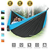 Camping Hammock, XL Portable Hammock for 2 Person...