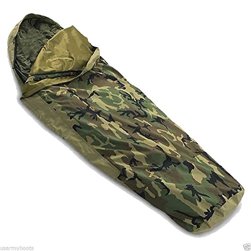 US Army Military Woodland Camouflage Camo GTX GORETEX...