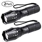 LED Tactical Flashlight, Binwo Super Bright 2000 Lumen XML...
