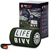 Go Time Gear Life Bivy Emergency Sleeping Bag Thermal Bivvy...