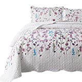Bedsure Queen/Full Size (90x96 inches) 3-Piece Quilt Set...