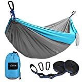 Kootek Camping Hammock Portable Indoor Outdoor Tree Hammock...
