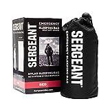 SERGEANT Emergency Sleeping Bag, Extra-Thick, Lightweight,...