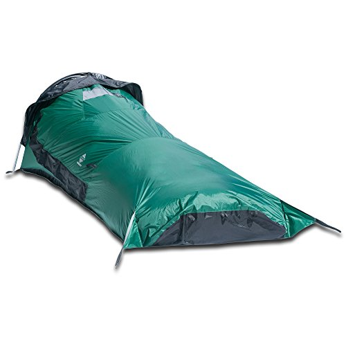 Aqua Quest Hooped Green Bivy Tent Waterproof, Lightweight...