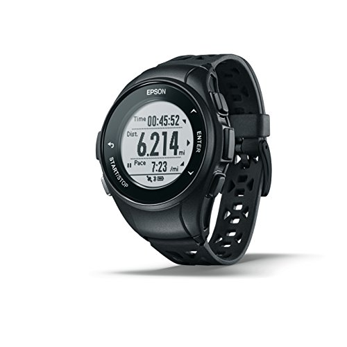 Epson ProSense 17 GPS Running Watch with Activity Tracking -...
