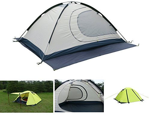 Luxe Tempo 2 Person 4 Season Tents Freestanding for Camping...