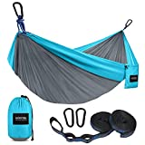 Kootek Camping Hammock Double & Single Portable Hammocks...