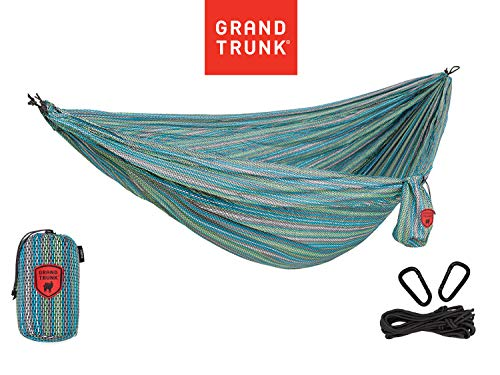 GRAND TRUNK Print Hammock - Double Hammock for Indoor and...