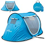Pop-up Tent an Automatic Instant Portable Cabana Beach Tent...