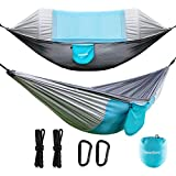Newdora Hammock with Mosquito Net 2 Person Camping,...