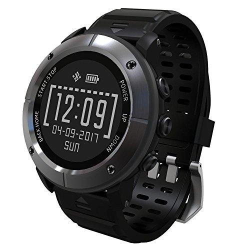UWear GPS Smart Watch,Bluetooth IP68 Waterproof Stainless...