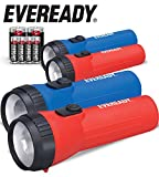 Eveready LED Flashlight, 4-Pack, Bright and Durable,...