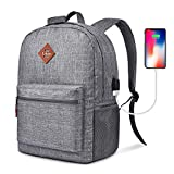 CoolBELL Backpack Casual Daypack Student Book Bag...