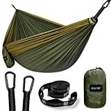G4Free Large Camping Hammock 2 Person with Tree Straps...
