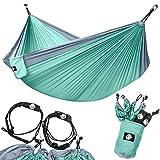 Legit Camping - Double Hammock - Lightweight Parachute...