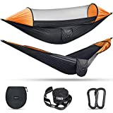 G4Free Large Camping Hammock with Mosquito Net 2 Person...