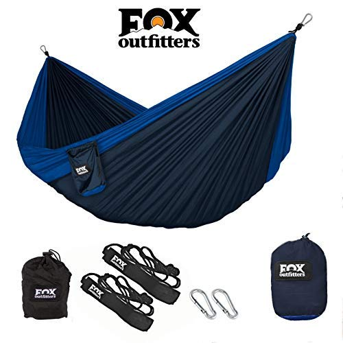 Fox Outfitters Neolite Double Camping Hammock - Lightweight...