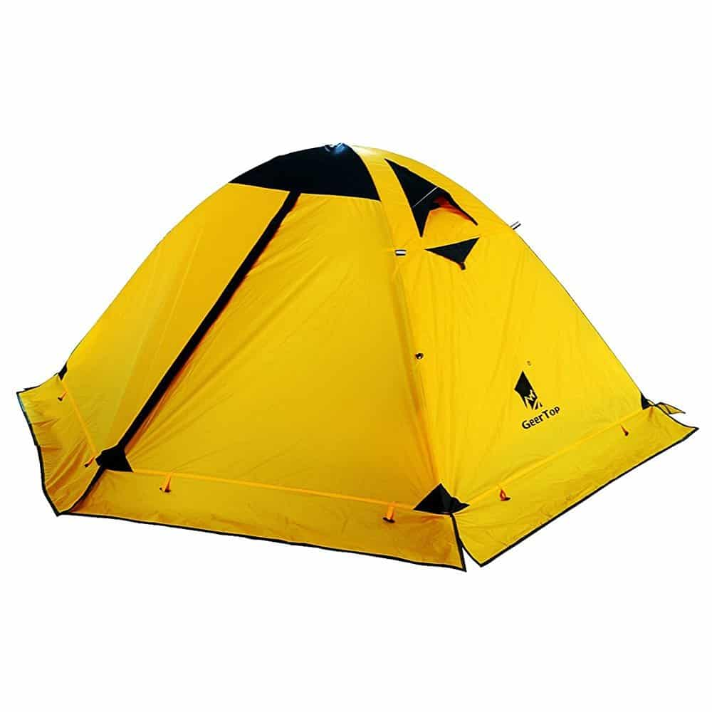 225 & GEERTOP 2-person 4-season Backpacking Tent Product Review ...