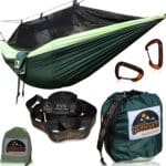 GoRoam Outdoors Camping Hammock with Mosquito Net