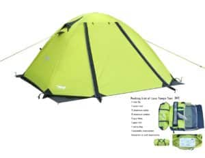 Luxe Tempo 2 Person 4 Season Tent Review - Best Two Person Tents - Lightwight and Ultralight Camping and Hiking
