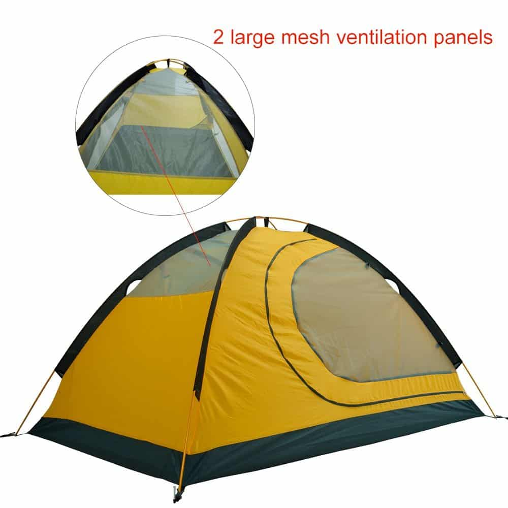 quality design 38d17 23406 GEERTOP 2-person 4-season Backpacking Tent Product Review ...