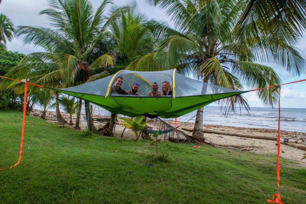 4_People_in_a_Tentsile_Stingray_Tree_Tent_by_Hammock_Town