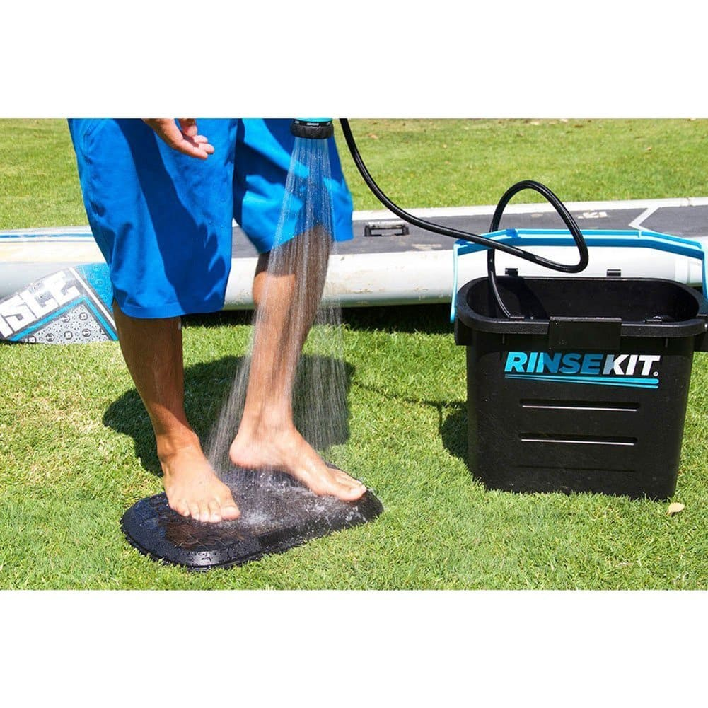 Rinse Kit Portable Sprayer with Hot Water Sink Adapter