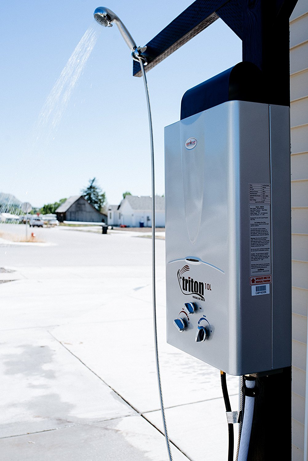 Camp Chef Triton 10l Portable Water Heater Product Review