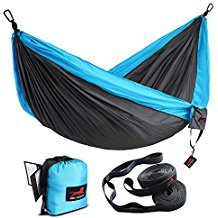 Honest Outfitters Single & Double Camping Hammock Review - Best Two Person Camping Hammocks - Lightwight and Ultralight Camping and Hiking