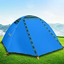 Campla Backpacking Tent for Two Persons With LED Review - Best Two Person Tents - Lightwight and Ultralight Camping and Hiking