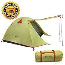 WEANAS Professional Backpacking Tent Review - Best Two Person Tents - Lightwight and Ultralight Camping and Hiking