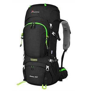 Mountaintop 60L Hiking Backpack with Rain Cover Review - Best Backpacks - Lightwight and Ultralight Camping and Hiking