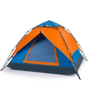 Yonovo 2-3 Person Family Pop Up Instant Dome Tent Review - Best Two Person Tents - Lightwight and Ultralight Camping and Hiking