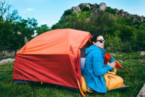 1 person ultralight camping tent