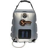 Advanced Elements 5 Gallon Summer Shower / Solar Shower Review - Best Showers - Lightwight and Ultralight Camping and Hiking