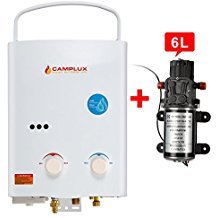 Camplux Outdoor Portable Propane Gas Tankless Water Heater Review - Best Showers - Lightwight and Ultralight Camping and Hiking