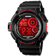 Fanmis Mens Military Multifunction Digital LED Watch Review - Best Hiking Watches - Lightwight and Ultralight Camping and Hiking