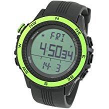 Lad Weather German Sensor Digital Watch Review - Best Hiking Watches - Lightwight and Ultralight Camping and Hiking