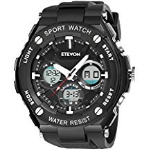 ETEVON Captain Men's Outdoor Sport Watch Review - Best Hiking Watches - Lightwight and Ultralight Camping and Hiking
