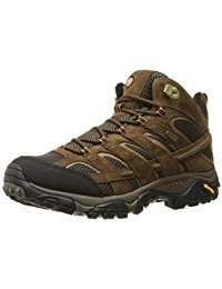 Merrell Men's Moab 2 Mid Waterproof Hiking Boot Review - Best Mens Hiking Boots - Lightwight and Ultralight Camping and Hiking